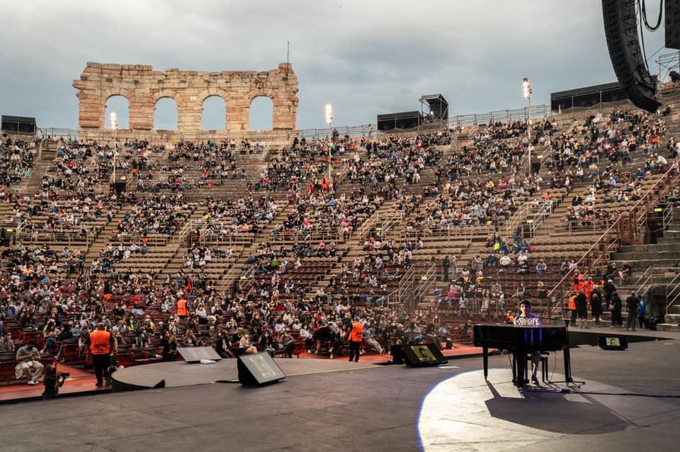 Live di Matteo Romano a Verona