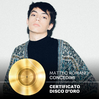 Concedimi Disco d'Oro
