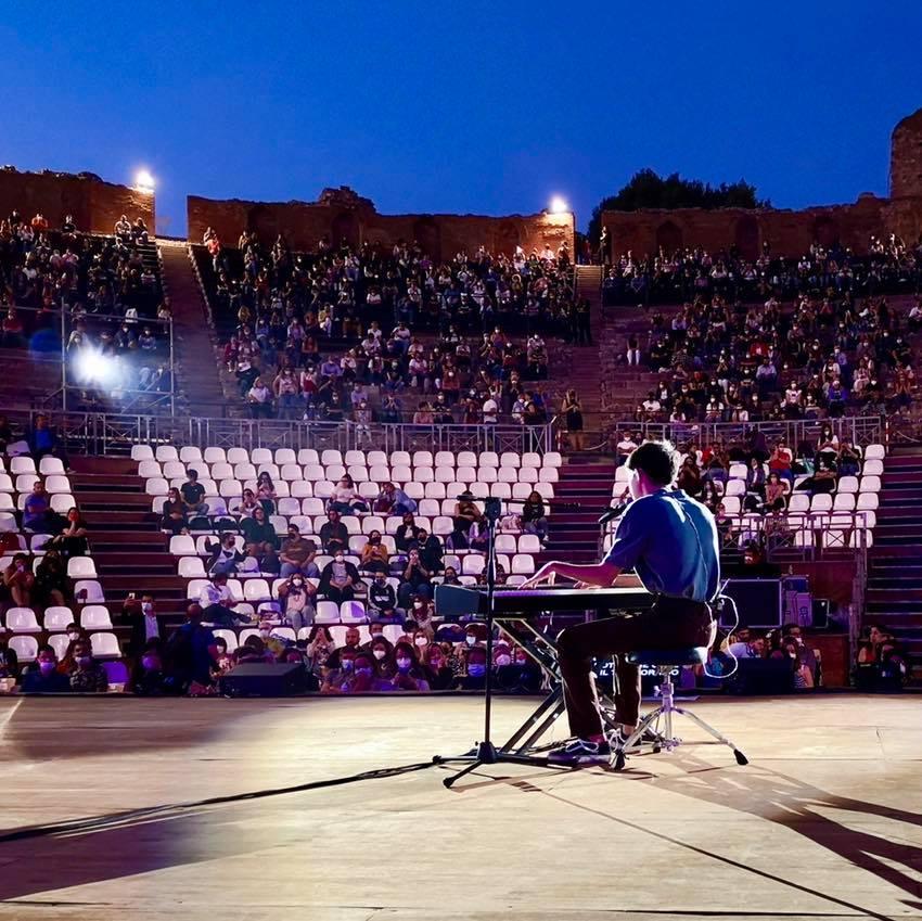 Live di Matteo Romano a Taormina